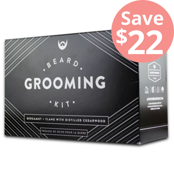 Picture of  Beard Grooming Kit, Bergamot + Ylang, 5 Pack