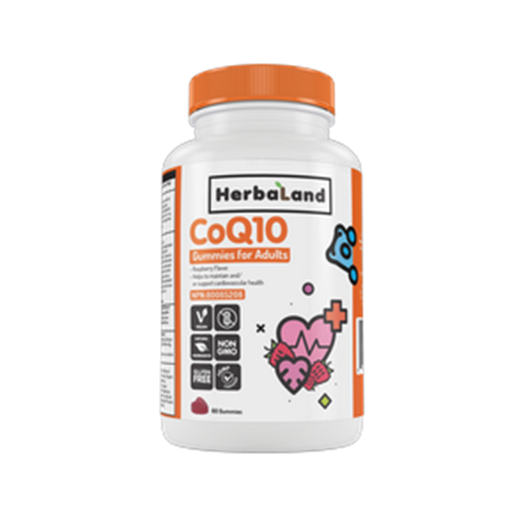 Picture of Herbaland Gummy for Adults: CoQ10, 60 Gummies
