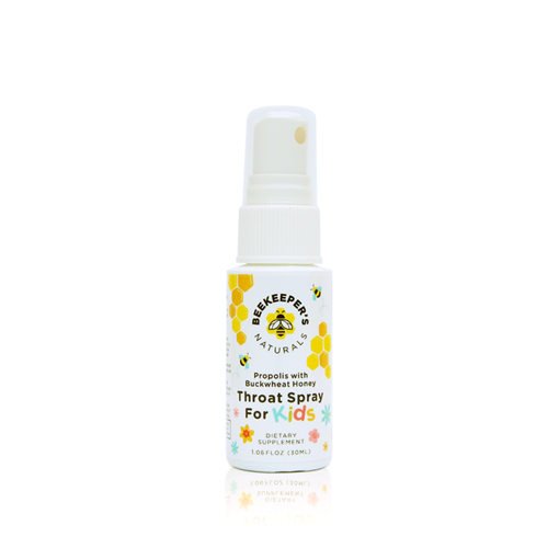 Picture of Beekeeper's Naturals Inc. Propolis Throat Spray for Kids 30ml