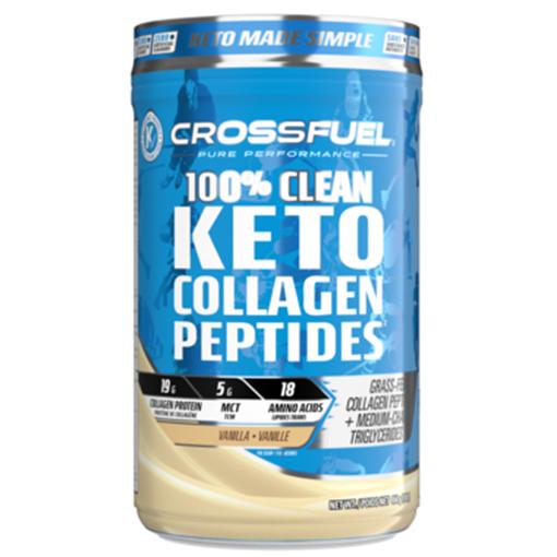 Picture of Crossfuel Keto Collagen Peptides Vanilla, 454g