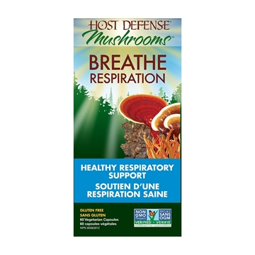 Picture of Host Defense Breathe Capsules NEW!60 Capsules