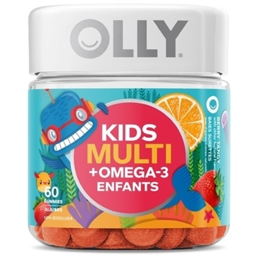 Picture of OLLY OLLY Kids' Multi + Omega Berry Tangy Berry Tangy, 60 Gummies