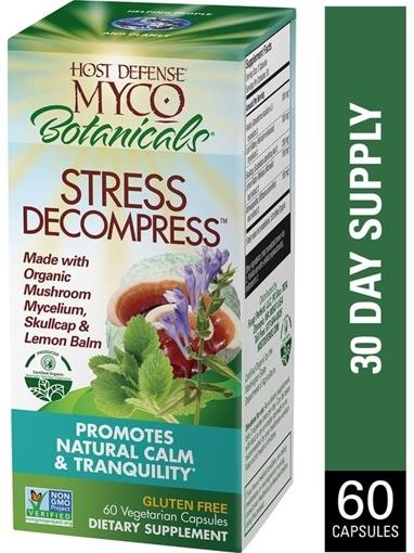Picture of Host Defense MycoBotanicals Stress Decompress, 60 caps