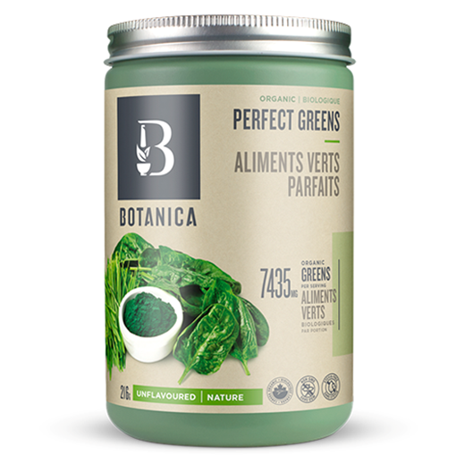 Picture of Botanica Perfect Greens Unflavoured, 216g