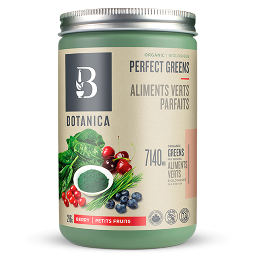 Picture of Botanica Perfect Greens Berry, 216g