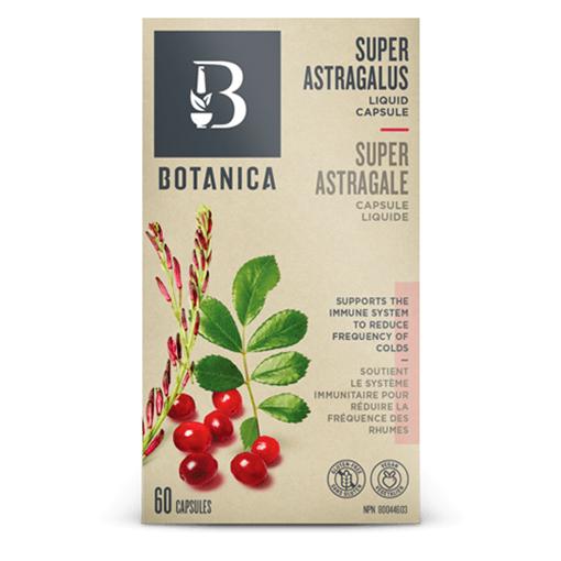 Picture of Botanica Super Astragalus, 60 liquid caps