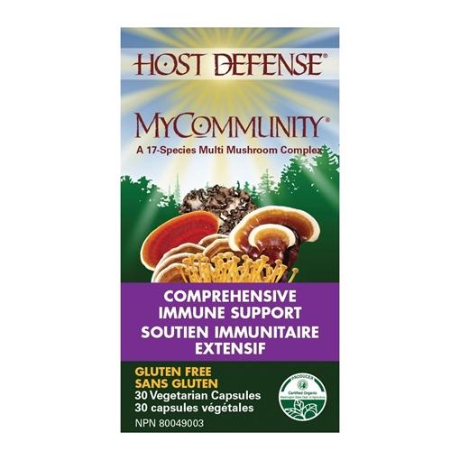 Picture of Host Defense MyCommunity Capsules, 60 Capsules