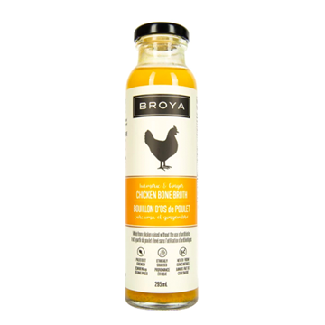 Picture of Broya Turmeric & Ginger Chicken Bone Broth, 6x295 ml