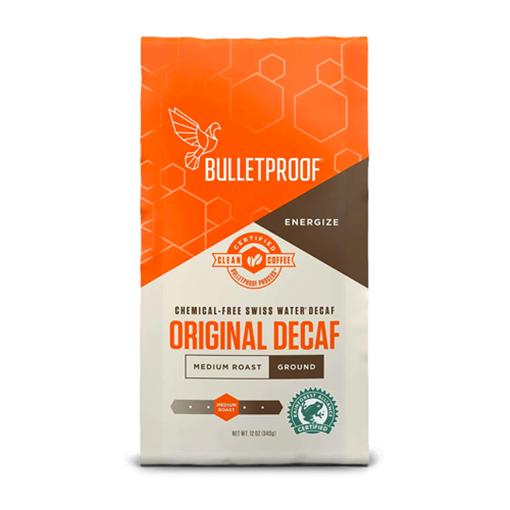 Picture of Bulletproof The Original Medium Roast Decaf Ground Coffee, 340g