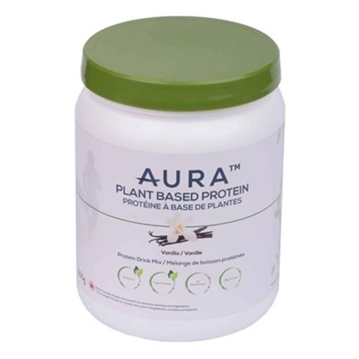 Picture of Aura Plant-Based Protein Powder, Vanilla 500g