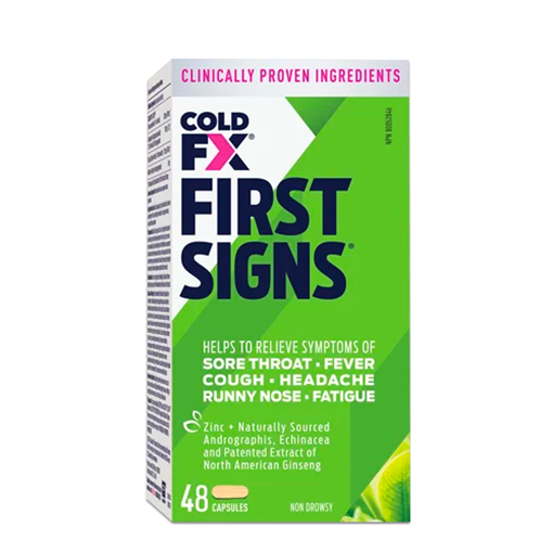 Picture of Cold-Fx First Signs, 48 Capsules