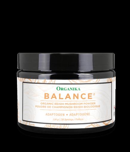 Picture of Organika Adaptogen Reishi Mushroom Powder Balance, 100g