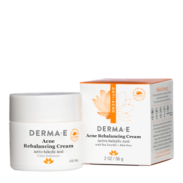 Picture of DERMA E Acne Rebalancing Cream, 56g