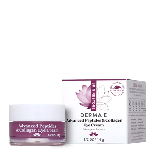 Picture of DERMA E Advanced Peptides & Collagen Eye Cream, 14g