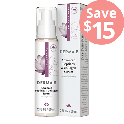 Picture of DERMA E Advanced Peptides & Collagen Serum, 60ml