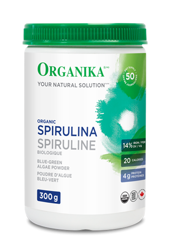 Picture of  Spirulina Powder, Certified Organic,300g