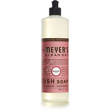 Picture of Mrs. Meyers Rosemary Dish Soap, 473ml