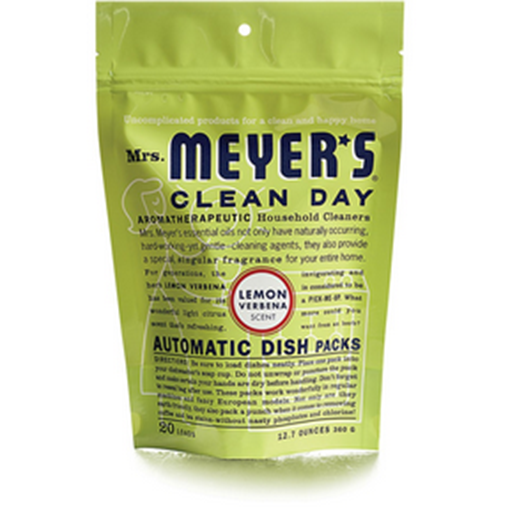 Picture of Mrs. Meyers Dishwasher Packs  - Lemon Verbena