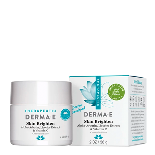Picture of DERMA E Skin Brighten Cream, 56g