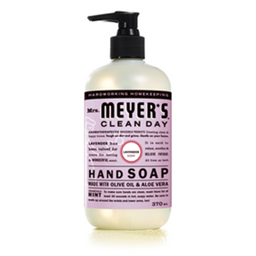 Picture of Mrs. Meyers Lavender Liquid Hand Soap, 370ml