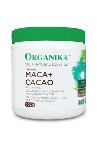 Picture of Organika Maca & Cacao Powder,200g