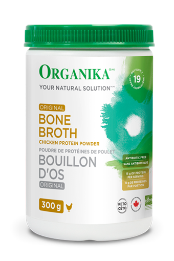 Picture of Organika Bone Broth Chicken Original, 300g