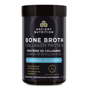 Picture of Ancient Nutrition Ancient Nutrition Bone Broth Collagen Protein Vanilla, 321g