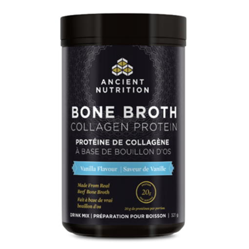 Picture of Ancient Nutrition Bone Broth Collagen Protein Vanilla, 321g