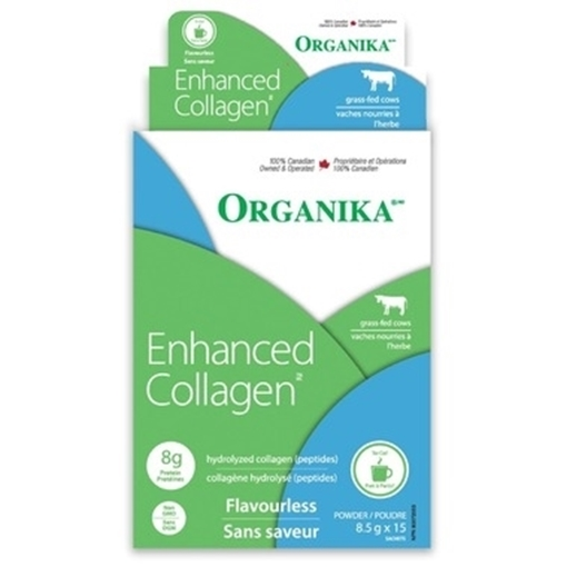 Picture of Organika Enhanced Collagen Stick Pack 15x8.5g