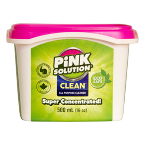 Picture of Pink Solution Pink Solution All Purpose Cleaner - Unscented, 500 mL