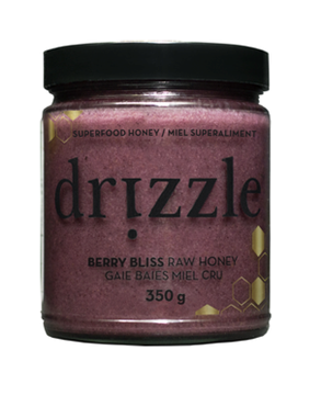Picture of Drizzle Honey Berry Bliss Raw Honey, Antioxidant Blend, 350g