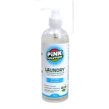Picture of Pink Solution Laundry Detergent unscented, 500ml