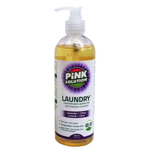 Picture of Pink Solution Laundry Detergent Lavender & Citrus, 500ml