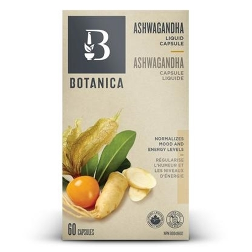 Picture of Botanica Ashwagandha, 60 liquid caps