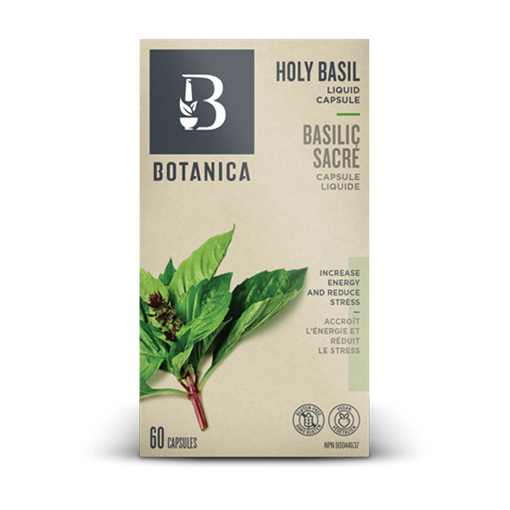 Picture of Botanica Holy Basil, 60  liquid caps