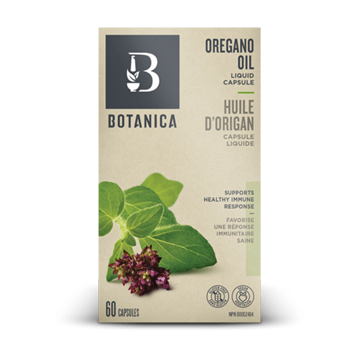 Picture of Botanica Oregano Oil, 60  liquid caps