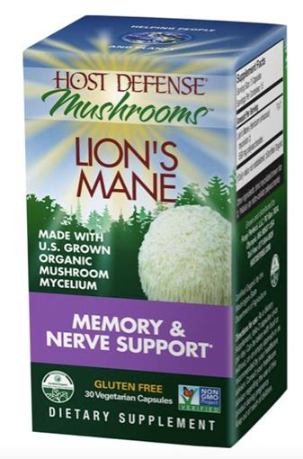 Picture of Host Defense Lion's Mane, 30 caps