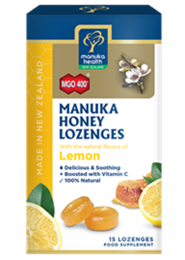 Picture of Manuka Health Manuka Honey & Propolis Lozenges MGO 400 Silver MGO 250 65g