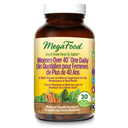 Picture of MegaFood Women Over 40 One Daily, 30 tabs