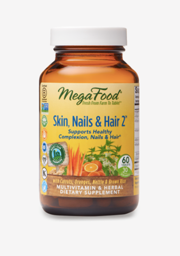 Picture of MegaFood Skin, Nails, & Hair 2, 60 tabs