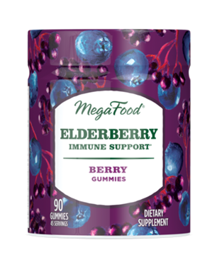 Picture of  Elderberry Immune Support Gummies, 90ct