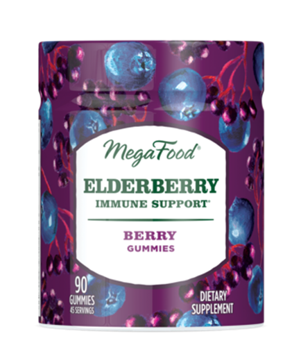 Picture of MegaFood Elderberry Immune Support Gummies, 90ct