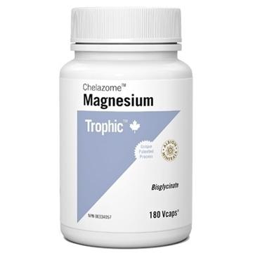 Picture of Trophic Magnesium Bisglycinate Chelazome, 180 Veg Caps