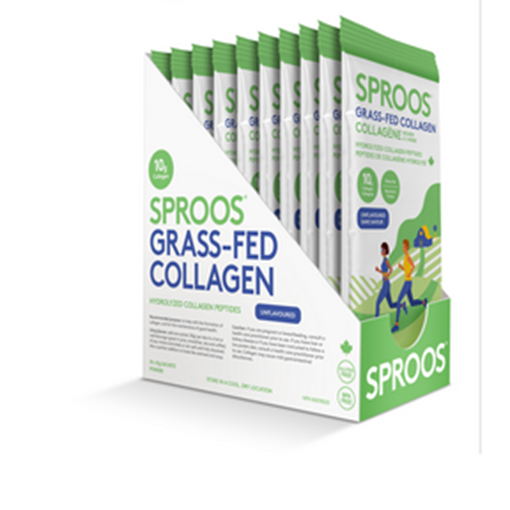 Picture of Sproos Grass-Fed Collagen (Box of 10 Sachets)