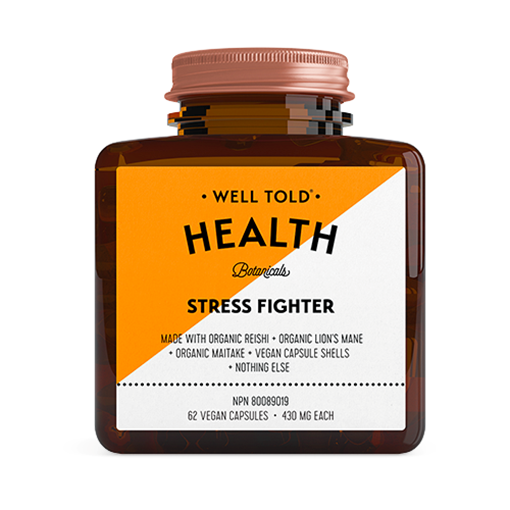 Picture of Well Told Health Stress Fighter,  62 Vegan Capsules