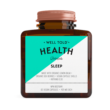 Picture of Well Told Health Sleep, 62 Vegan Capsules