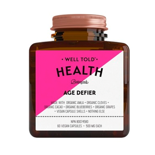 Picture of Well Told Health Age Defier, 60 Vegan Capsules