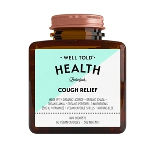 Picture of Well Told Health Cough Relief, 60 Vegan Capsules