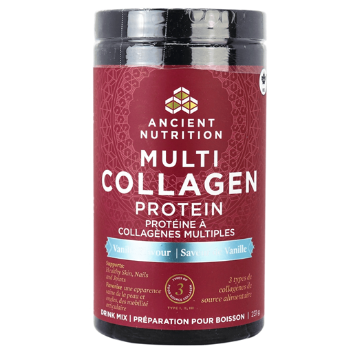 Picture of Ancient Nutrition Multi Collagen Protein Vanilla, 231g