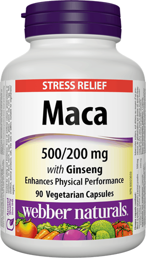 Picture of Webber Naturals Maca With Ginseng, 90 Capsules